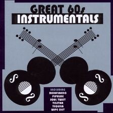 Great 60s Instrumentals CD NEW SEALED Cover Versions