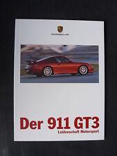Porsche 911 GT3 - Leidenschaft Motorsport - Prospekt Brochure 02.1999