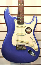 FENDER® American Standard Stratocaster ELECTRIC GUITAR Mystic Blue w/CASE USED