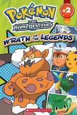 Pokemon Comic Reader #2: Wrath of the Legends (Pokémon Comic Readers) by Whitehi