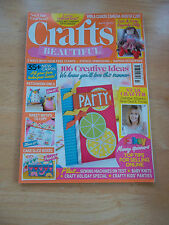 CRAFTS BEAUTIFUL MAGAZINE #281 JULY 2015 * 106 CREATIVE IDEAS SELL ON LINE TIPS