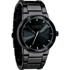 Nixon Men's A160-001 Cannon All Black Stainless Steel Watch