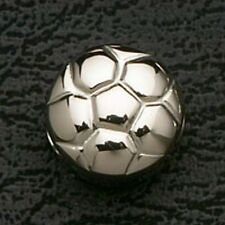Soccer Ball Stainless Steel Loose Beads Sports Charms Fit European Bracelets