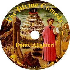 The Divine Comedy Classic Audiobook by Dante Alighieri on 12 Audio CDs Free Ship