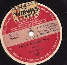 Bar-Trio 1942 : Dein goldenes Herz  +  Lieber Sonnenschein