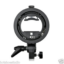 S-Type S Bracket Elinchrom Mount Holder for Flash Speedlite Flash Snoot Softbox