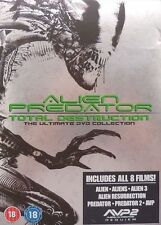 Alien/Predator - Total Destruction Collection (DVD, 2008, 8-Disc Set, Box Set)
