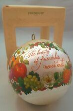 """Vintage Hallmark Keepsake Ornament """"Friendship"""""""
