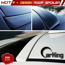 Unpainted For INFINITI G35 G45 V35 4D Sedan F-Design Window Roof Spoiler 03-04