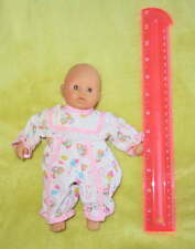 "ZAPF Creations Mini 8"" Chou Baby DOLL Rattle Stained Face Dolly TOY Handheld"