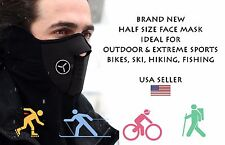Outdoor Motorcycle Thermal Balaclava Neck Winter Ski Half Face Mask Cap Cover US