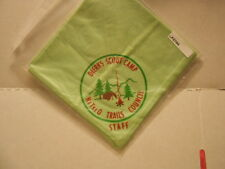 DIERKS SCOUT CAMP NETSEO TRAILS COUNCIL STAFF NECKERCHIEF F2790