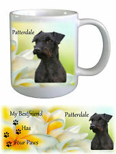 Patterdale Terrier Dog Ceramic Mug by paws2print