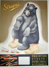 Strupai ( Store Display) Original Vintage Advertising Poster