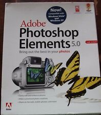 *SEALED* Adobe Photoshop Elements 5.0 software Kodak Easyshare Photoshop PC