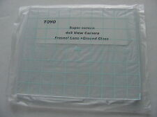 New Toyo 4x5 Camera Fresnel Lens + Ground Glass-Best quality