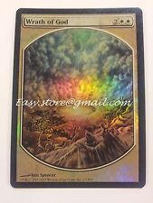 IRA DI DIO - WRATH OF GOD TEXTLESS FOIL ENG - MTG MAGIC