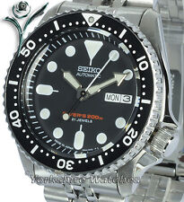 SEIKO 200Mt AUTO SCUBA PRO DIVERS With STAINLESS STEEL BRACELET SKX007J2