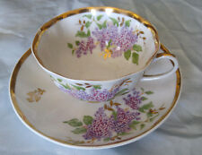 Vintage Mid Century Dulevo Russian Tea Cup And Saucer