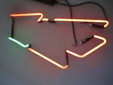 Budweiser Red Outline Beer Neon Sign Glass Tubing Replacement Part 2010 Fifa Cup