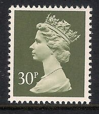 GB 1989 sg X980 30p Deep Olive Grey photogravure phosphorised paper MNH