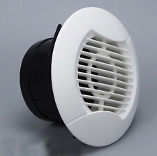 Air Vent eave ventilation Exhaust Roof Ceiling Grille Flyscreen Round 75mm