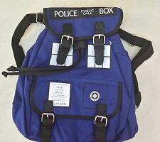 Doctor Who Tardis Backpack and 12 oz Travel Mug- Perfect Combo For True Fans