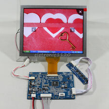 VGA input LCD driver board with 8inch AT080TN52 800x600 lcd panel