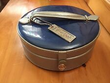 Time Out Makeup Train Case Mirror Cosmetic Case EUC