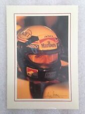 Alain Prost MacLaren F1 Postcard 1st On eBay Car Poster. Own It!