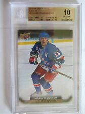 15-16 UD SERIES 2 CANVAS,MARK MESSIER, RETIRED STARS, C250,BGS 10 PRISTINE, SP