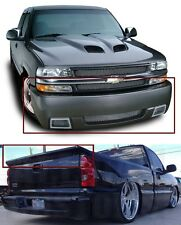 Combo Silverado SS Bumper Cover & Intimidator SS Wing 1999 2000 2001 2002