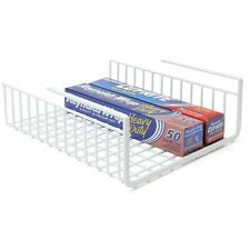Shelf  Rack under counter organizer holder Storage Kitchen Garage Workbench Tool