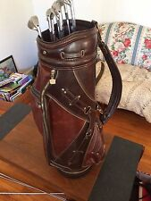 Wilson X31 Forged Golf Clubs Set w/Vintage Wilson Staff Bag NICE Matching Ser #s