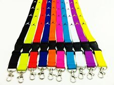 SET OF 5 JORDAN LANYARD ID BADGE HOLDER MICHAEL PURPLE PINK YELLOW BLUE GREEN