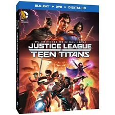 Justice League Vs Teen Titans Blu-ray DVD NEW
