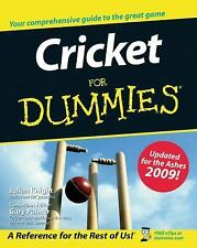 Cricket For Dummies-ExLibrary