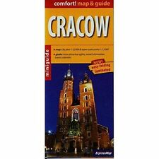 Cracow r/v (r) wp miniguide (Map Guide), Very Good Condition Book, ExpressMap Po