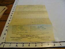"LEASE APPLICATION ""CAMBRIDGE HALL"" FOREST HILLS LONG ISLAND, NY & Letter 1938"