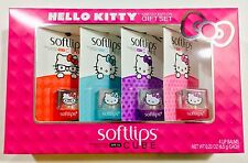 Sanrio Hello Kitty Softlips Limited Edition Cube Gift Set, All 4 New Flavors