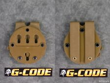 NEW G-CODE RTI HOLSTER BATTLE BELT MOLLE MOUNTING PLATFORM ADAPTER SYSTEM COYOTE