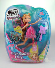 doll  Winx Club Enchantix Fairy -  Doll Winx  WT 15812 Flora Toy 28 CM