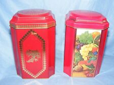 Advertising Tin Marks And Spencer Tea Caddy Tins Tin Kitchenalia