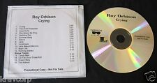 ROY ORBISON 'CRYING' 2006 ADVANCE CD REISSUE