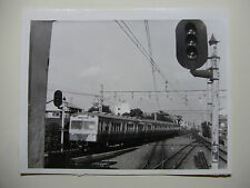 JAP530 - 1965 SEIBU RAILWAY Co - ELECTRIC TRAIN PHOTO - Saginomiya Japan