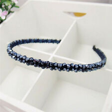Fashion Women Chic Bead Crystal Head Headband Head Piece Hair Band Girl