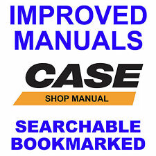 CASE 580K Phase 1 Loader Backhoe Tractor SERVICE Repair MANUAL - SEARCHABLE CD
