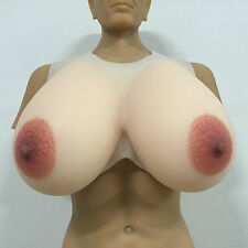 IVITA 9.5KG High-Quality Large Silicone Breast Form Drag Queen Big False Boobs