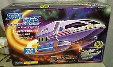 PLAYMATES STAR TREK NEXT GENERATION SHUTTLECRAFT GODDARD (NIB) COLLECTORS EDITIO