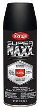Krylon K08974000 SUPERMAXX Spray Paint, Satin Black
